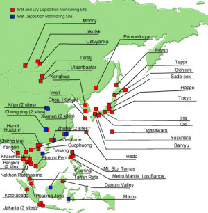 The Acid Deposition Monitoring Network in East Asia (EANET)